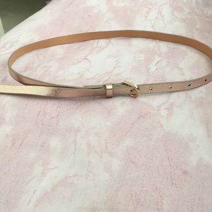 ROSE GOLD BELT